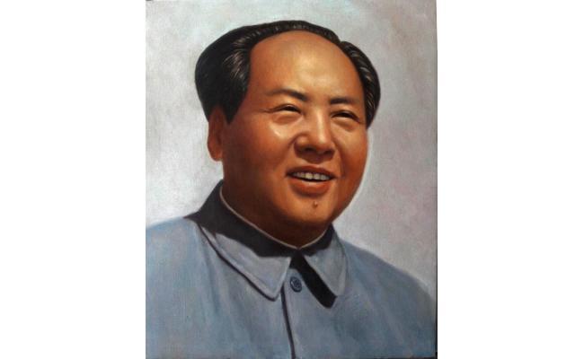 吴极工作室--50年代毛澤東